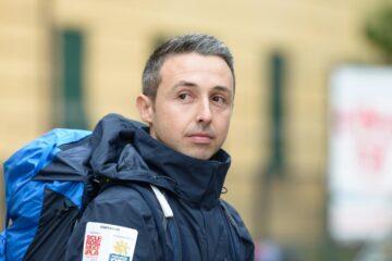 Il 'Forrest Gump' della sclerosi multipla torna a Genova dopo 259 giorni e 6 mila chilometri percorsi a piedi