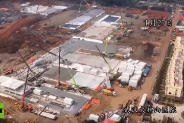 Conclusi in 10 giorni i lavori di costruzione del secondo ospedale di Wuhan