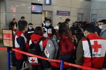 Coronavirus, la Cina invia terzo team di medici esperti in Italia