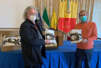 Emergenza Covid, il sindaco Di Napoli raddoppia: seconda consegna di mascherine ai medici di famiglia