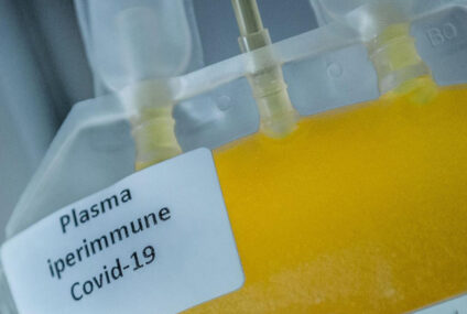 7 milioni di euro da Commissione europea per raccolta plasma iperimmune
