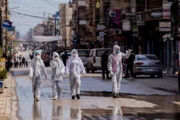 """Covid-19, Siria: l'allarme di azione contro la fame. """"solo 59 ospedali attivi, meno di 500 unita' di terapia intensiva con ventilatori, l'esodo dei sanitari"""""""
