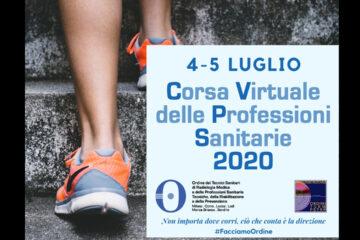 Corsa Virtuale delle Professioni Sanitarie 2020