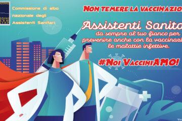 Campagna vaccinale anti Covid-19: il contributo degli Assistenti Sanitari
